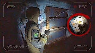 Нашел тайную комнату в секретной лаборатории. Логово мародеров в Припяти. Чернобыль 2019