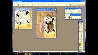 Портфолио дошкольника. Как вставить фото в рамку в программе фотошоп(Приглашаю Вас на мой сайт, где Вы можете ознакомиться с бесплатным мини-курсом по созданию портфолио дошкол..., 2014-04-28T06:02:31.000Z)
