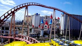 Gambar cover Big Apple Coaster front seat on-ride HD POV New York, New York Hotel & Casino
