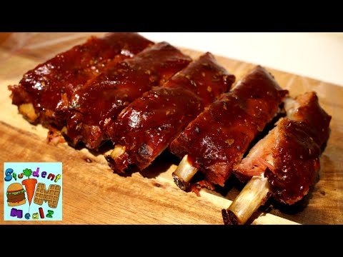 SLOW COOKED OVEN RIBS RECIPE