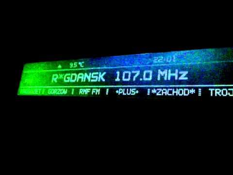 Polskie Radio Gdańsk 107,0 MHz w Gorzowie