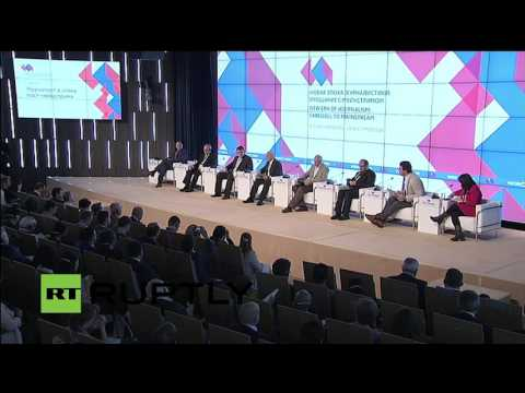LIVE: Rossiya Segodnya hosts International Media Forum in Moscow