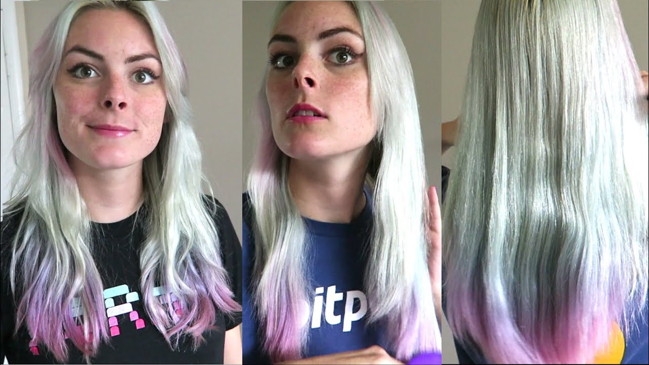 Aphogee Two Step Protein Treatment On Colored Hair Before After