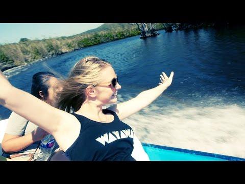 🐊 Crocodile River Cruise in Mexico! - 🏖 San Blas vlog #309