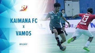 Kaimana FC Papua Barat (4) vs (6) Vamos Mataram - Highlight Pro Futsal League 2017