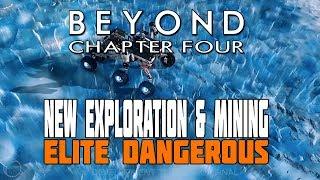 Elite Dangerous - Space Storms, Exploding Asteroids, Exploration Probes - New Chapter Four Reveals
