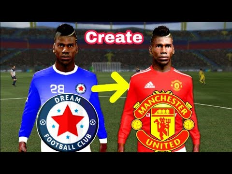 Dream League Soccer 2019 How To Create Manchester United Kits & Logo 2019/2020 Mobile Phone I Used ..