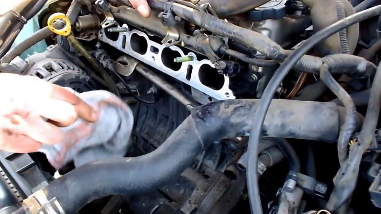 Wspaniały Toyota Corolla E 11 VVT-i - Regeneracja kolektora dolotowego. Cz UU27
