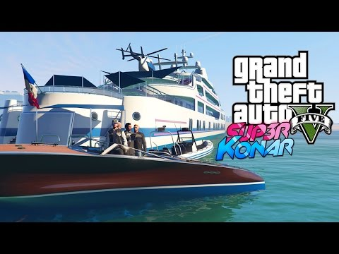 GTA 5 online - Best of funny moments #44 (Yacht de Luxe, Uber)