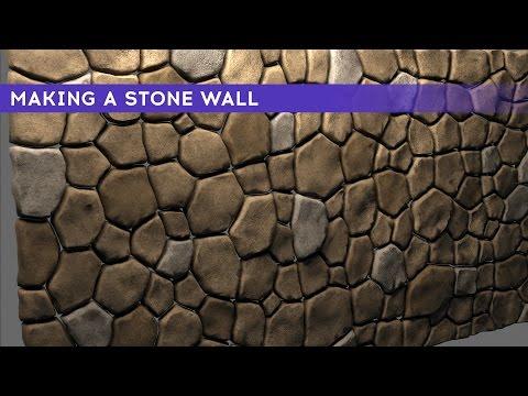 Making A Stone Wall   3dsMax   Mental Ray   Video