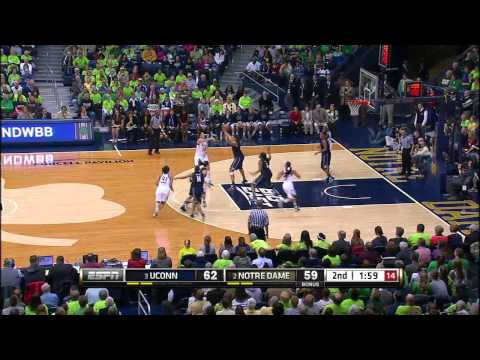 Notre Dame Defeats UConn In Triple Overtime - Notre Dame Women's Basketball