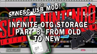 SNES Classic USB mod | Part 8 - LINKED GAMES | hakchi2 USB EDITION!