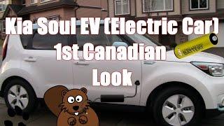 Kia Soul Electric EV Car 1st Canadian Look & Test Drive