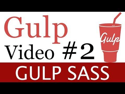 install gulp-sass version