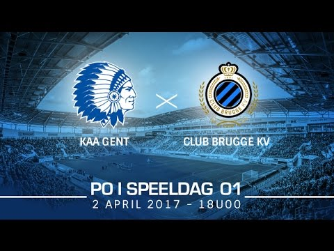Samenvatting KAA Gent - Club Brugge (SP1 - PO1)