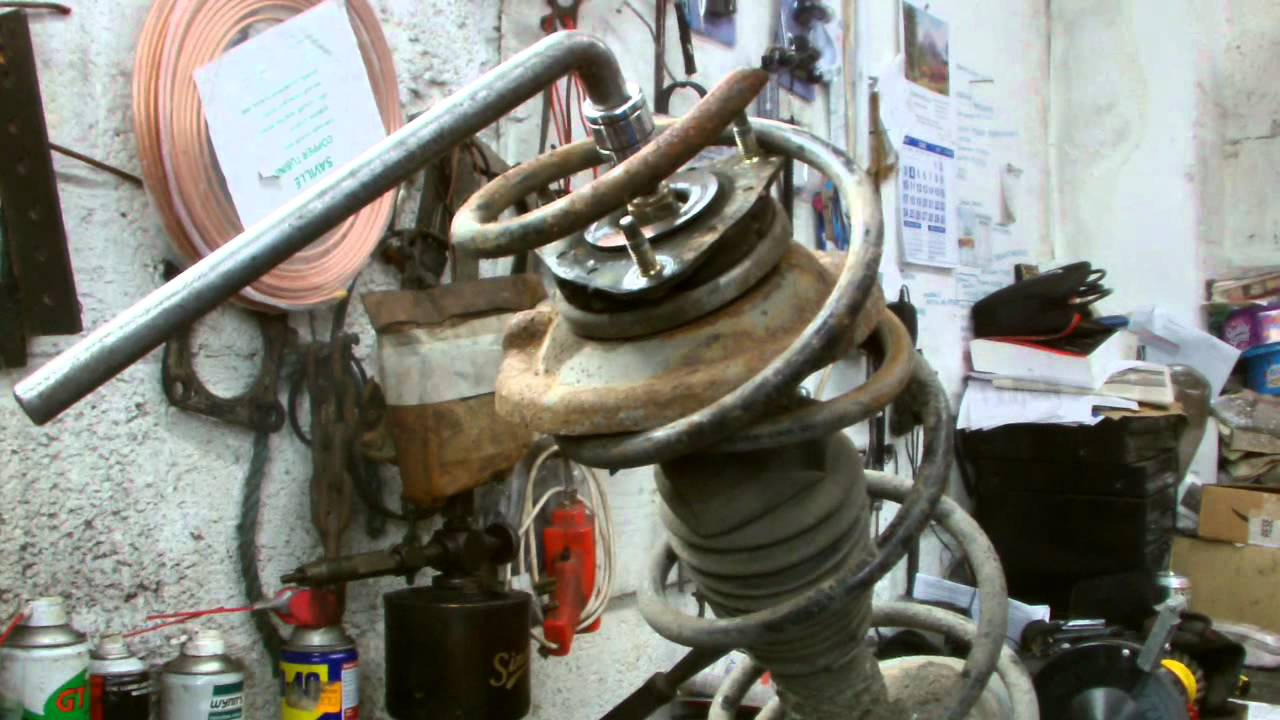 ford ka front suspension diagram thermostat to furnace wiring focus spring replacment youtube