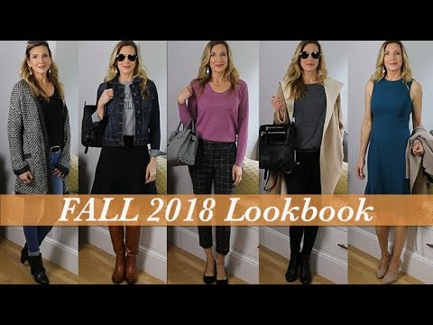 Outfit Ideas for Fall 2018! Lookbook / Capsule Wardrobe