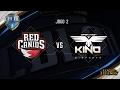Red Canids x Kino (Jogo 2 - Semana 5 - Dia 2) - CBLoL 2017