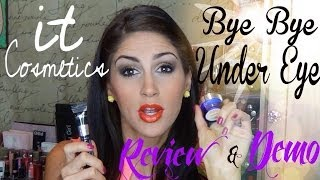 It Cosmetics Bye Bye Undereye Review & Demo