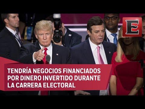 FBI investiga transacciones de exjefe de campaña de Trump
