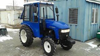 Купить Мини-трактор Jinma-264ER с кабиной, сделанной в Украине minitrak.com.ua(, 2016-12-30T09:24:47.000Z)