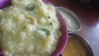 Pongal | பொங்கல் | Recipe | Soft Pongal Made By Pulungal Rice | Gowri Samayalarai