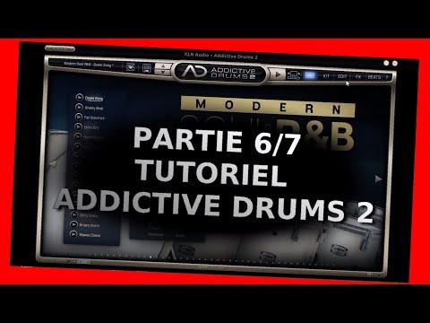 """Addictive Drums 2 - Tutoriel 6/7 - Les pages """"FX"""" et """"Beats"""" - XLNaudio - fr"""