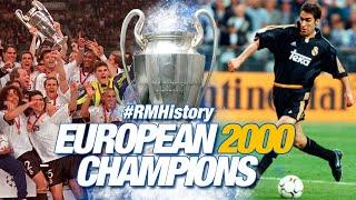 LA OCTAVA Real Madrid 3 0 Valencia Champions League 1999 2000