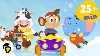 Dr. Panda TotoTime | Season 1 | Full Episodes 4,5,6 | Kids l...