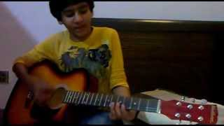 tujhe main pyar karun with guitar
