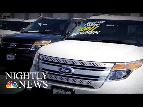 Ford Urged To Recall 1.3 Million Vehicles Over Carbon Monoxide | NBC Nightly News