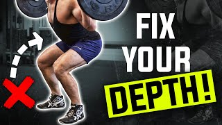 5 TIPS TO FIX YOUR SQUAT! || LOWER BACK & SHOULDER PAIN GONE!