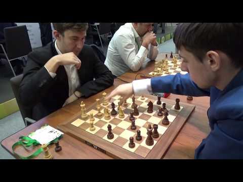 GM Sergey Karjakin – GM Klementy Sychev, Blitz chess, Italian game