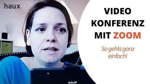 ZOOM: Kostenlose Online Meetings, Besprechungen und Schulungen per Videokonferenz Software