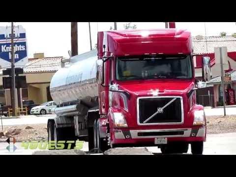 GAS TANKER TRUCK, GROENDYKE TRANSPORT