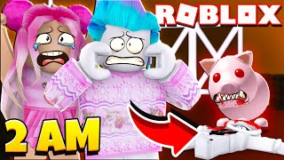 This Is Why You Should NEVER Play With Your Pet Pig At 3 AM! Roblox Piggy Funny Moments