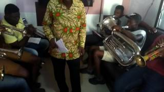 ADOM BRASS BAND, (REHEARSALS -  BUE KWAN 1) ACCRA - GHANA