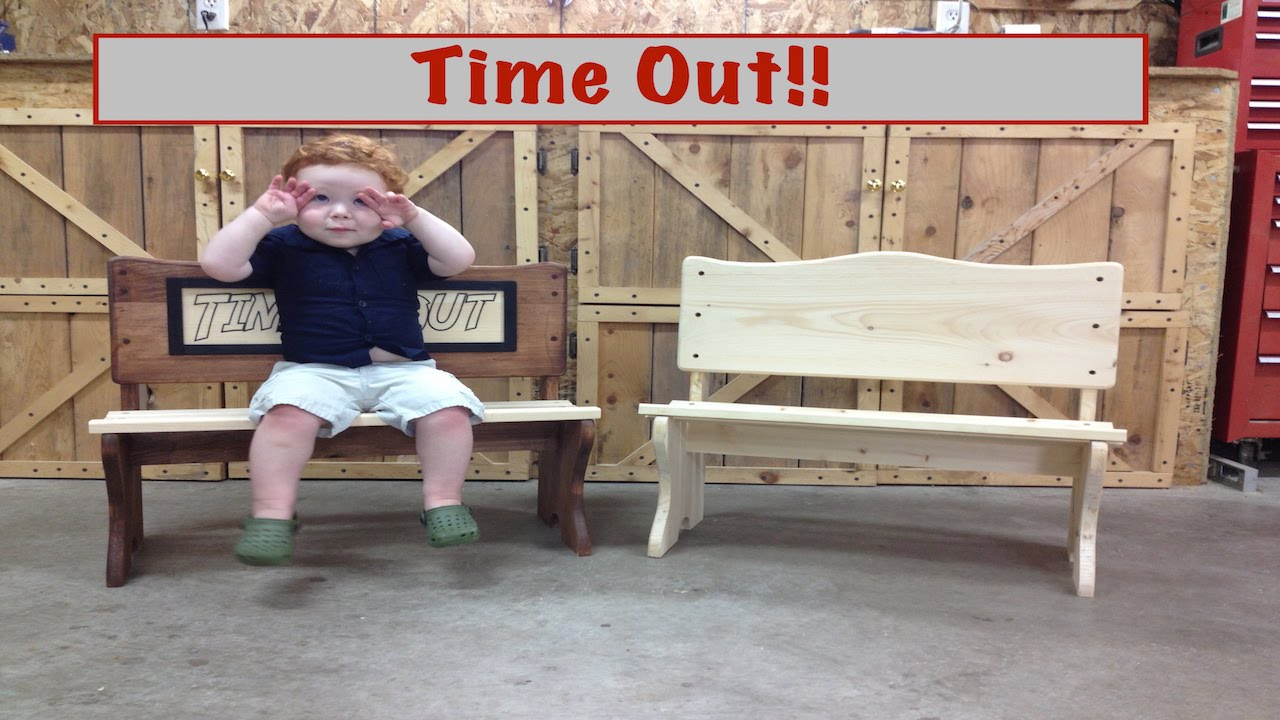 How To Make A Time Out Bench Youtube