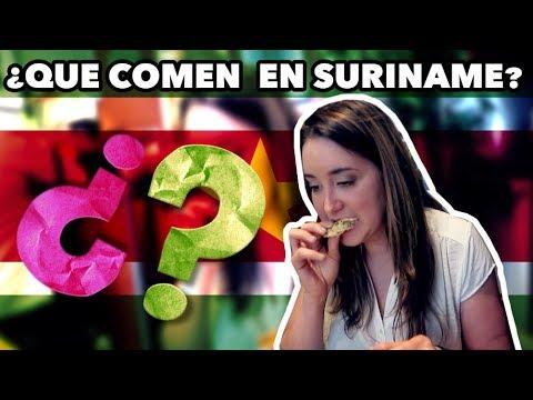 ¡Probando comida de Surinam! (EL PAIS IGNORADO EN SUDAMERICA)