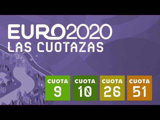 ⚽ EURO 2020 - Mis 4 Grandes Cuotas para el Torneo