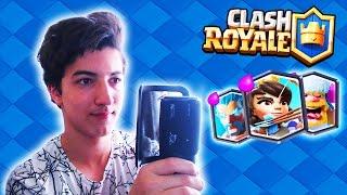 Clash Royale Kartlarının Seslerini Çıkaran ADAM !?