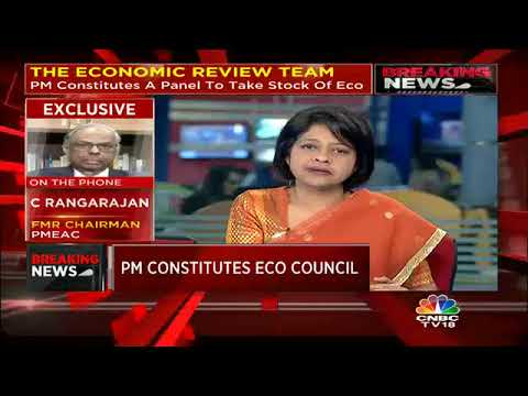 C Rangarajan Speaks About The PM's Economic Review Team | CNBC TV18