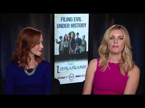 Rebecca Romijn  Lindy Booth (The Librarians) on Sidewalks Entertainment