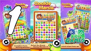 Cookie Mania - Match-3 Sweet Game Gameplay #1 All Levels (Android, IOS) screenshot 1
