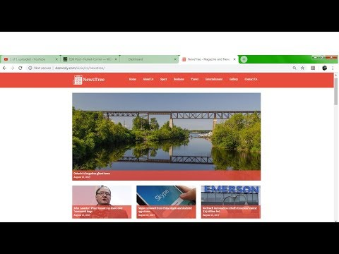 [GET]NewsTree - Magazine And News Portal Website CMS PHP SCRIPT