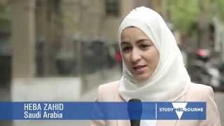 Student Story: Heba from Saudi Arabia, finalist in the Victorian International Education Awards