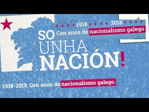 Contámosche os 100 anos de nacionalismo galego en 10 minutos