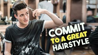 How to Commit To An Awesome Hairstyle | Successfully Grow Out Your Hair! | BluMaan 2018