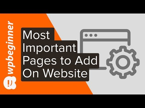 The 4 Most Important Pages Every Website Should Have (2019)