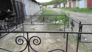 Недорогая оградка своими руками.RUSSIA.500 руб=1м